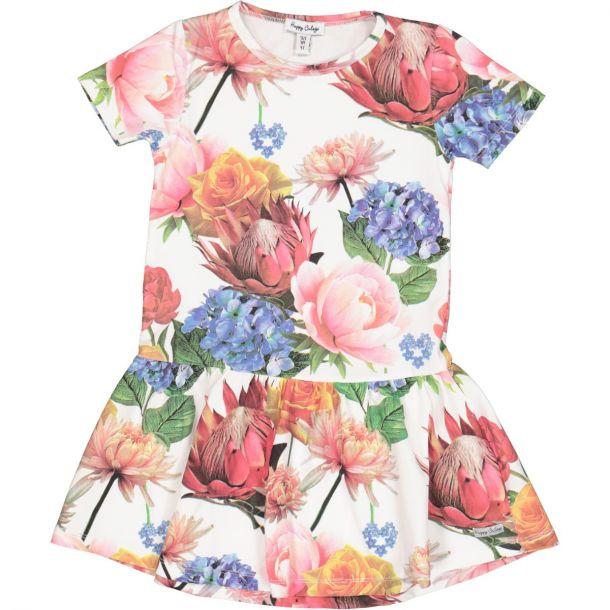 Girls Olivia Floral Dress