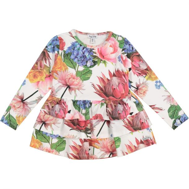 Girls Olivia Floral Tunic Top