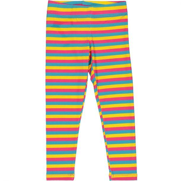 Girls Stripe Leggings