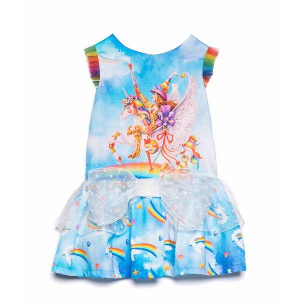 Girls Atkinson Unicorn Dress