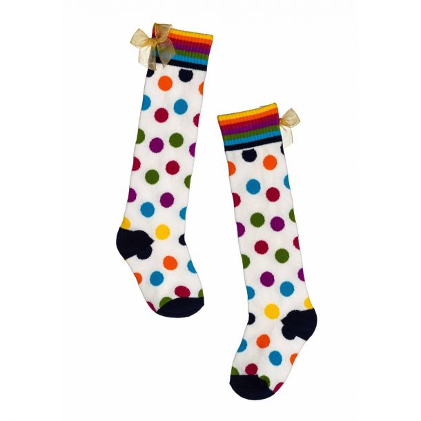 Girls Atkinson Spotty Socks