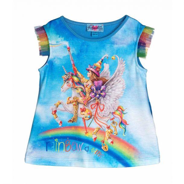 Girls Atkinson Unicorn T-shirt