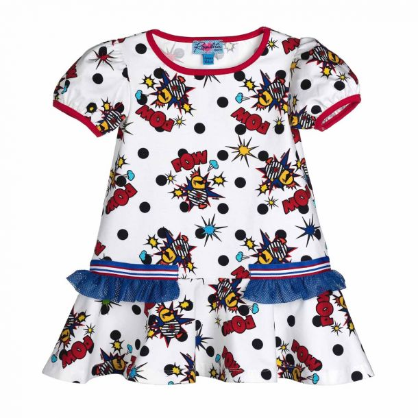 Girls Berry Pow Dress