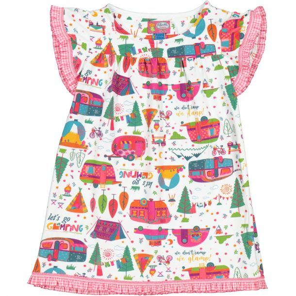 Girls Cumberland Print Dress