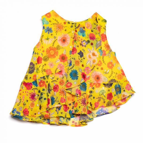 Girls Howland Floral Top