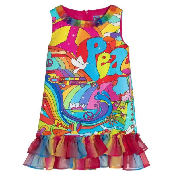 Girls Somerset Peace Dress