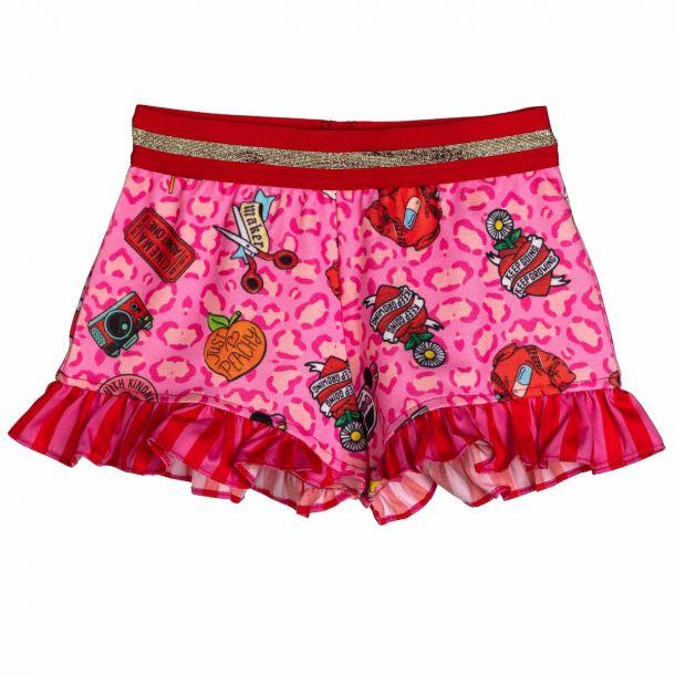 Girls Standish Jersey Shorts