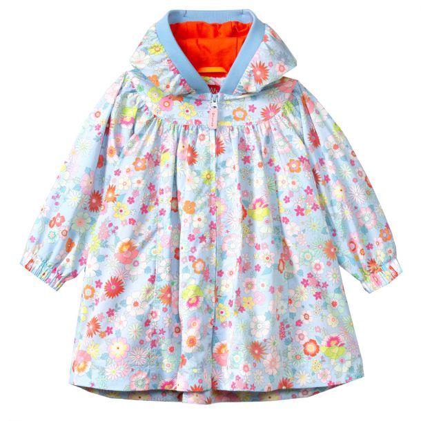 Girls Clementina Floral Coat