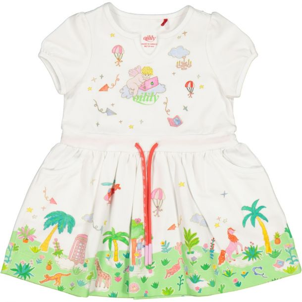 Girls Teacup Jersey Dress