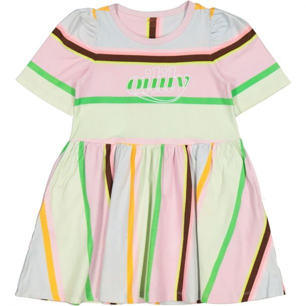 Girls Trendy Stripe Dress