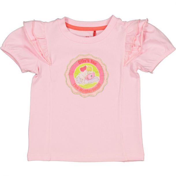 Girls Tamarind Pink T-shirt