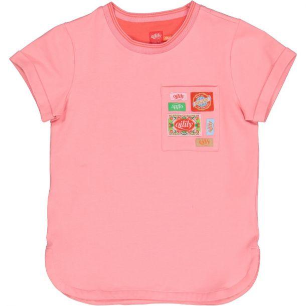 Girls Terrific Badge T-shirt