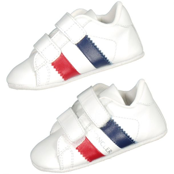 Baby White Low Top Trainers