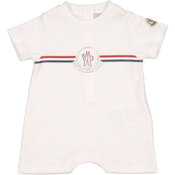Baby White Logo Shortie