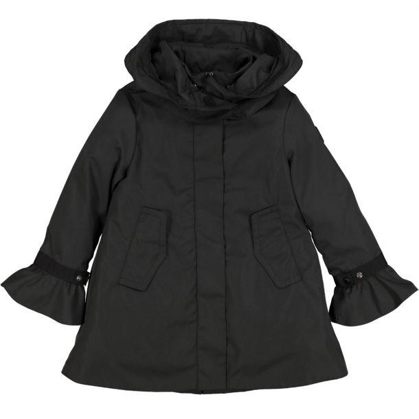 Girls Black Athelas Coat