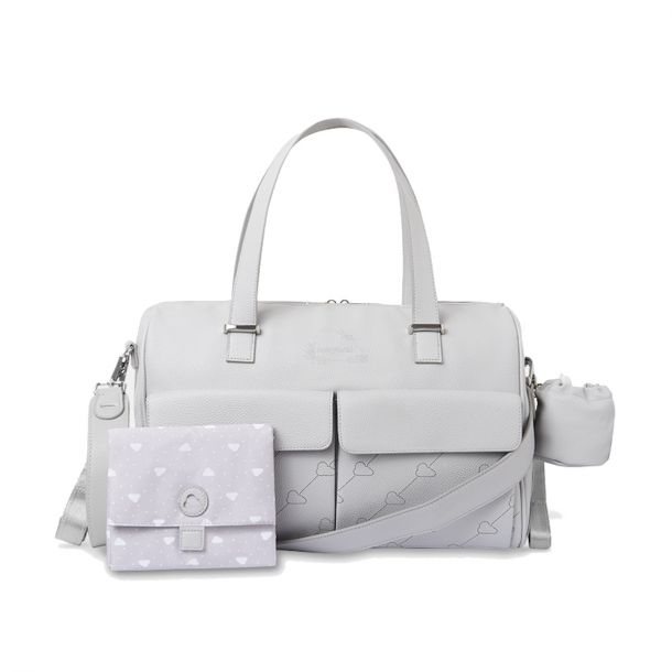 Babies Grey Changing Bag