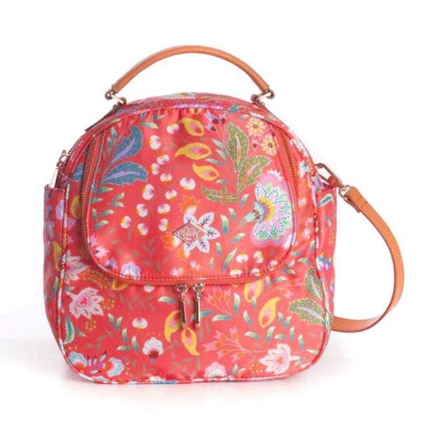 Girls Hot Coral Backpack
