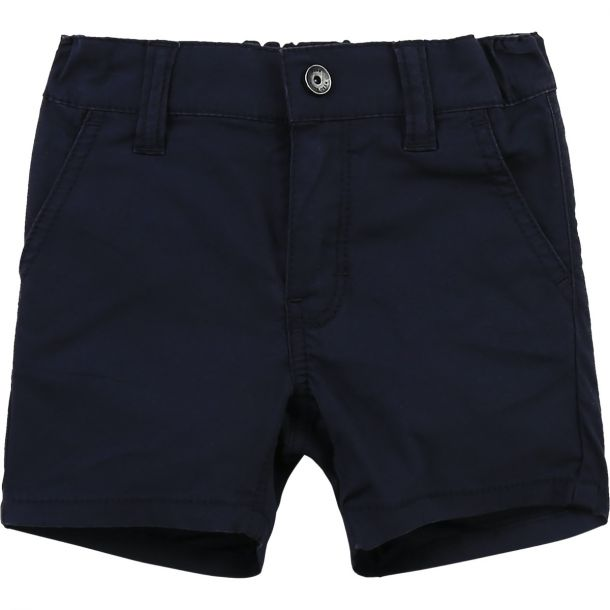 Baby Boys Navy Cotton Shorts