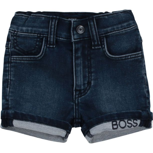 Baby Boys Denim Jersey Shorts