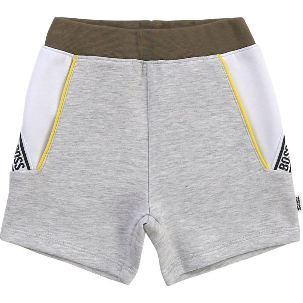 Baby Boys Grey Jersey Shorts