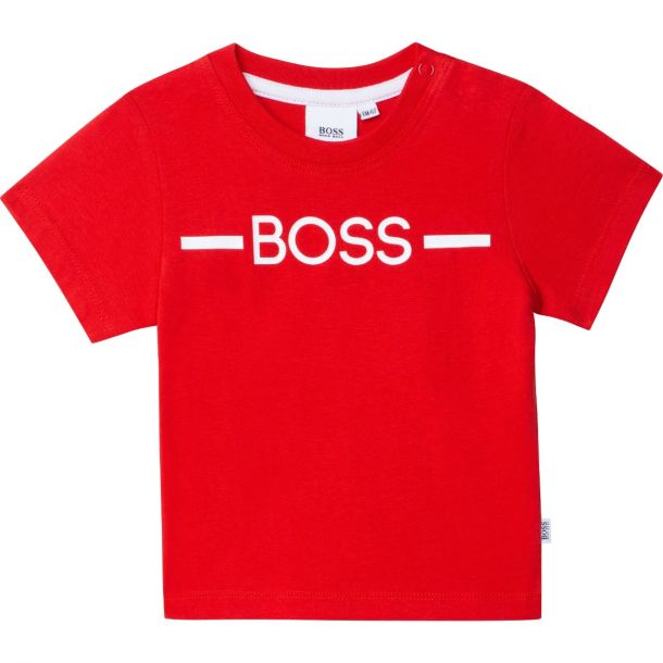 Baby Boys Red Logo T-shirt
