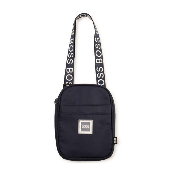Boys Navy Shoulder Bag