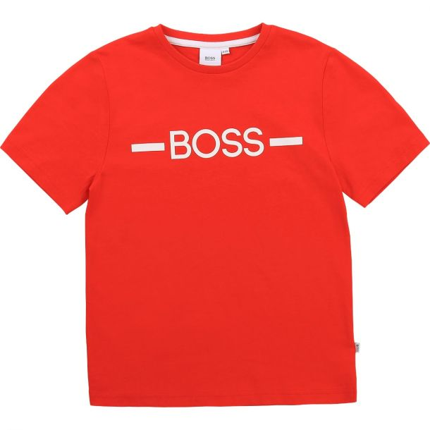 Boys Red Logo T-shirt