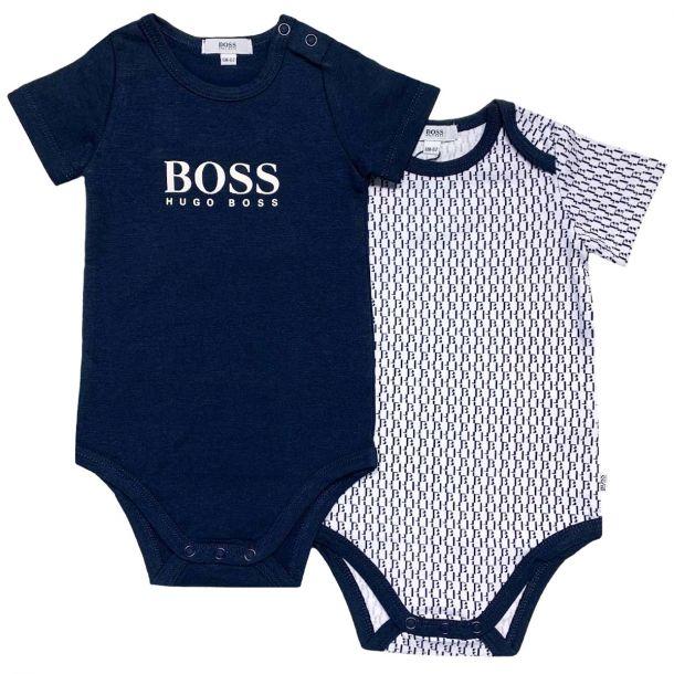 Baby Boys Set Of 2 Body Vests