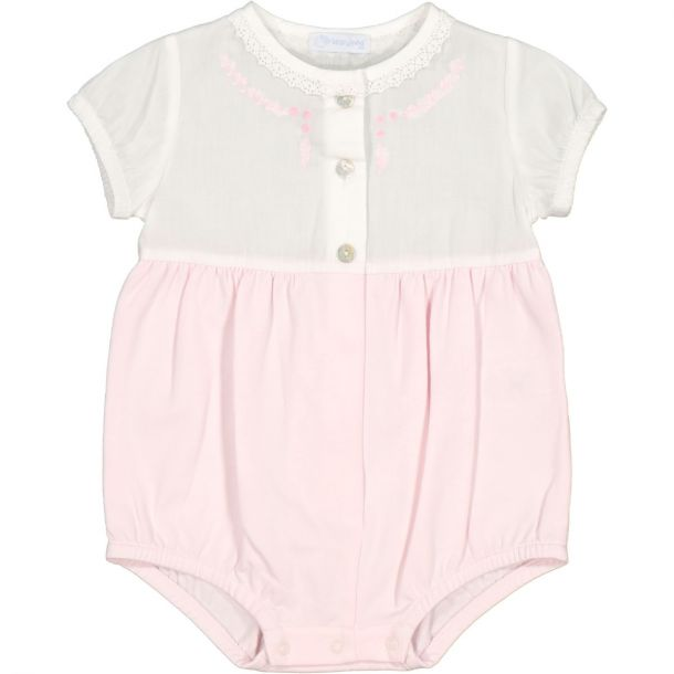Baby Girls Embroidered Shortie