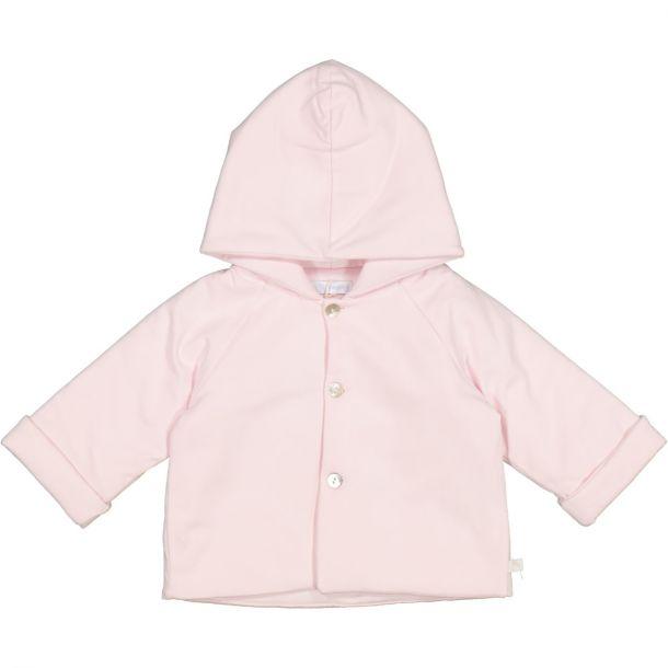 Babies Pink Jersey Jacket