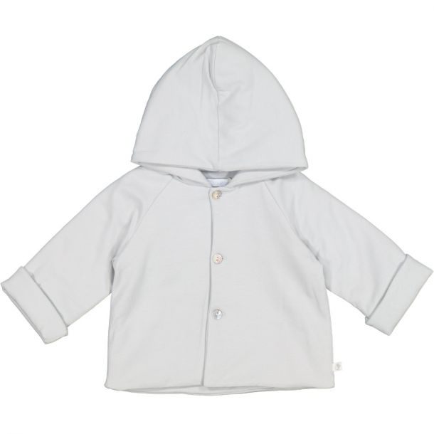Babies Grey Jersey Jacket