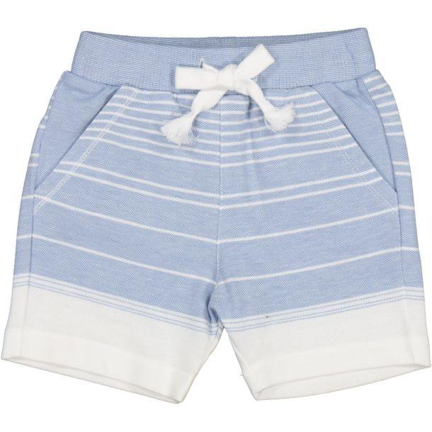 Boys Blue Stripe Shorts