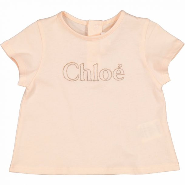 Baby Girls Chloe Logo T-shirt