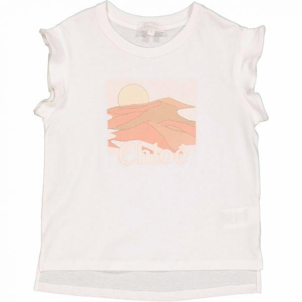 Girls Sahara Logo T-shirt