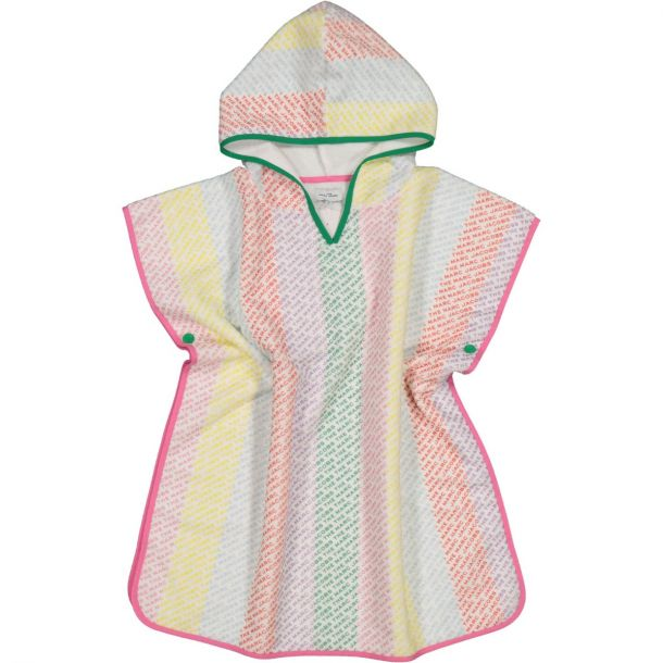 Girls Hooded Cotton Robe