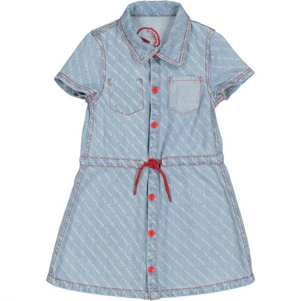Girls Denim Reversible Dress