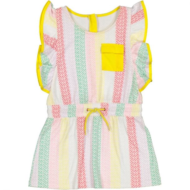 Girls Logo Print Dress