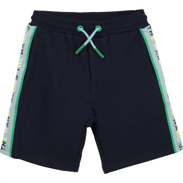 Boys Navy Logo Shorts
