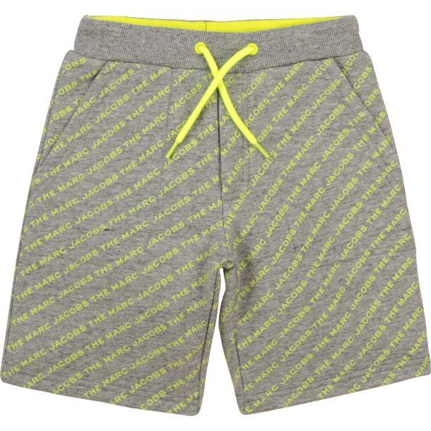 Boys Grey Logo Shorts