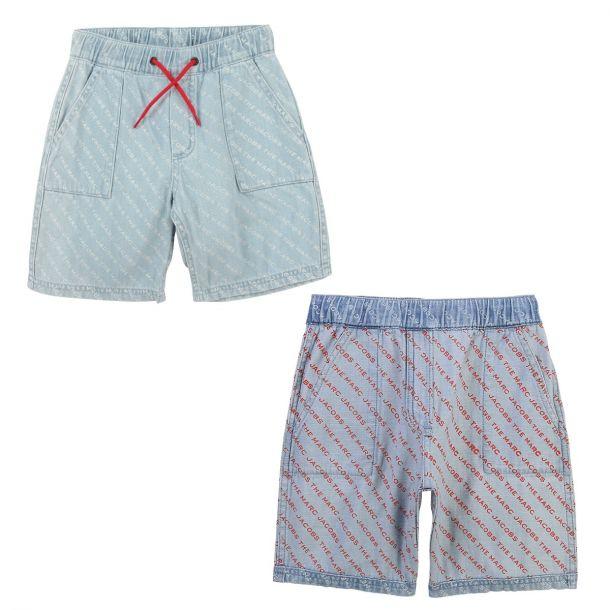 Boys Denim Reversible Shorts