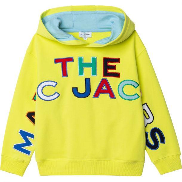 Boys Yellow Logo Sweatshirt