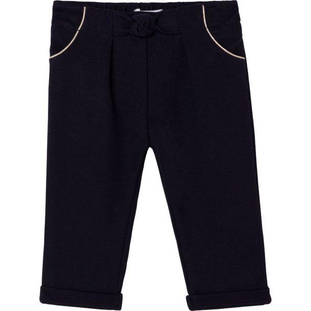 Baby Girls Navy Milano Trouser