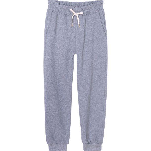 Girls Grey Jersey Joggers