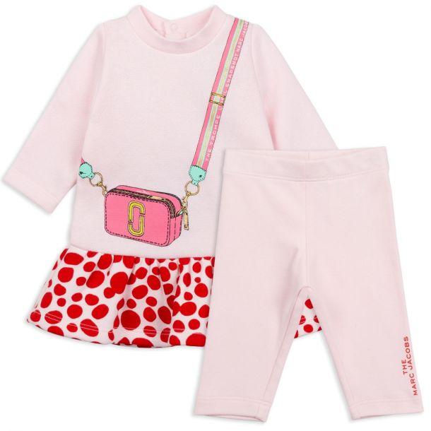 Baby Girls Dress & Leggings