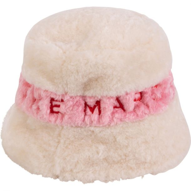 Girls Faux Fur Bucket Hat
