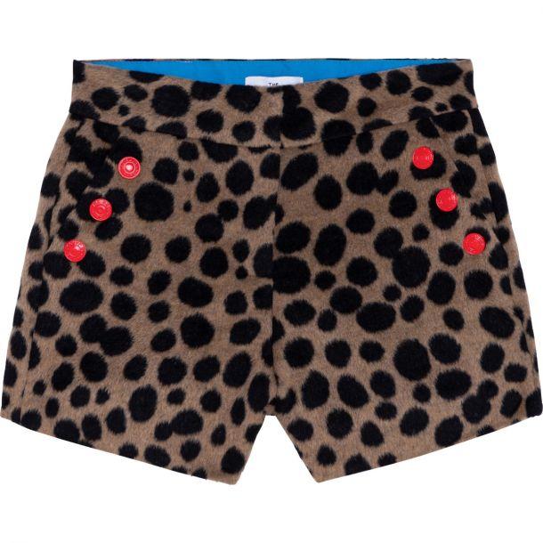 Girls Animal Print Shorts