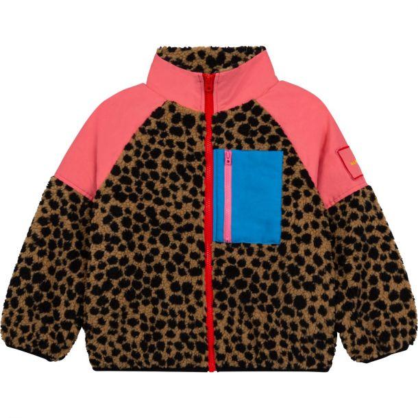 Girls Animal Fleece Jacket