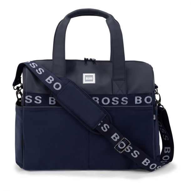 Baby Navy Logo Changing Bag