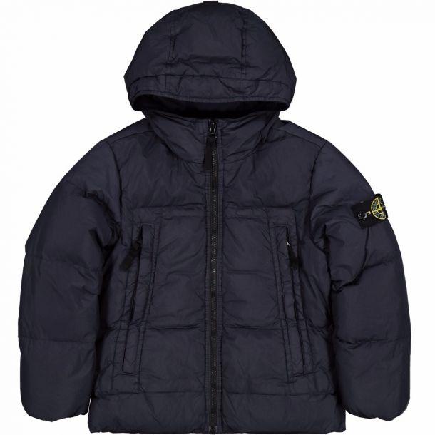 Boys Navy Down Jacket
