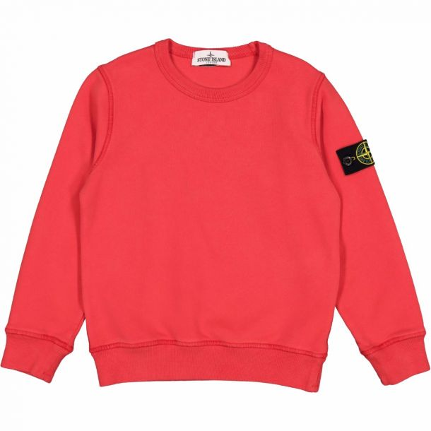 Boys Red Badge Branded Sweat